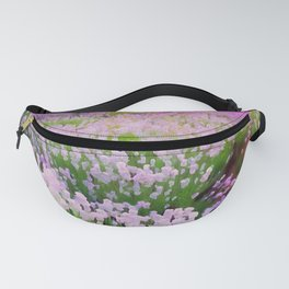Lavender Fields Fanny Pack