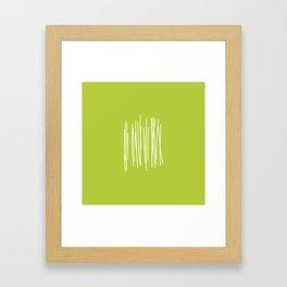 Wood - Minimal FS - by Friztin Framed Art Print