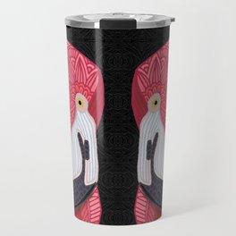 Pink Flamingos 2016 (black) Travel Mug