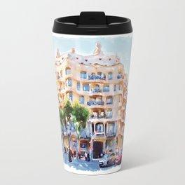 La Pedrera Barcelona Travel Mug