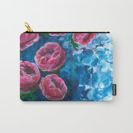 Vortex of Peonies Carry-All Pouch