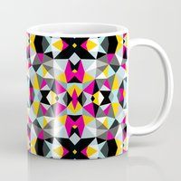 comic book Mugs featuring Comic Book Tribal by Beth Thompson