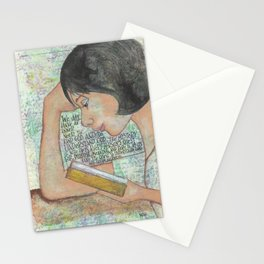 Inner Need by patsy paterno Stationery Cards