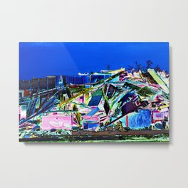 After the Storm - Hurricane Michael Aftermath (2) - Grocery Store Metal Print