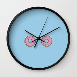Lazzy Donut Wall Clock