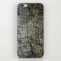 wood iPhone & iPod Skins featuring Wood by David Bastidas