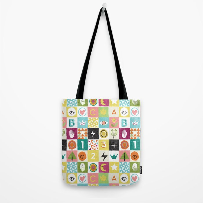 ABC123 Tote Bag
