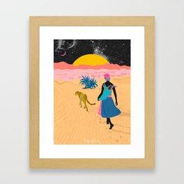 Desert_ Framed Art Print