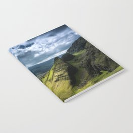 Where Silent Gods Stand Guard Notebook