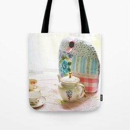 Vintage tea setting Tote Bag