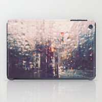 dc iPad Cases featuring DC Rain by elle moss