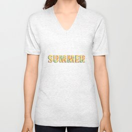 Summer Triangle Unisex V-Neck