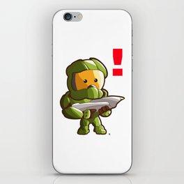 Halo Master Chief Kawaii iPhone Skin