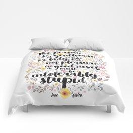 Jane Austen - Intolerably Stupid  Comforters