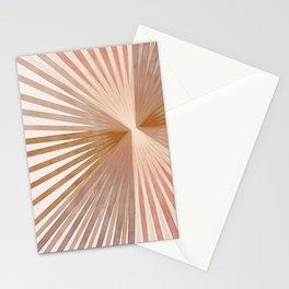 Warm Burst Modern Art Print Stationery Cards