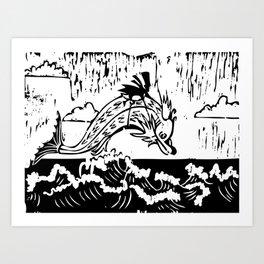 Weird Fish Art Print