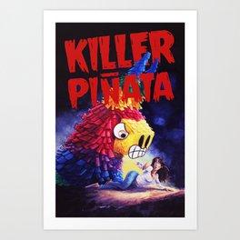 Killer Pinata Art Print