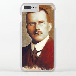 Carl Jung, Psychoanalyst Clear iPhone Case