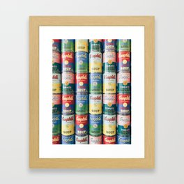 Limited Edition Campbell's Soup Cans Framed Art Print