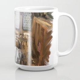 Grand Central Terminal in Digital Oils Coffee Mug