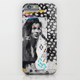 KATE MOSS TRIBE iPhone Case