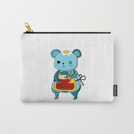 """Kookie"" The Bear Carry-All Pouch"
