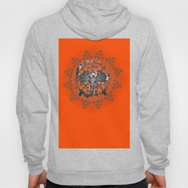 Skull and Crossbones Medallion Hoody