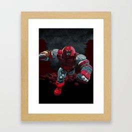 Xman Mashup Framed Art Print