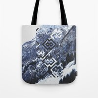 geo Tote Bags featuring GEO by MIRA design