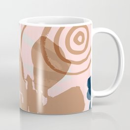 Abstract Leaves and Flowers III Coffee Mug