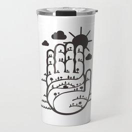 Hamsa Travel Mug