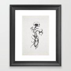 Come fiori nati dopo secoli di buio Framed Art Print