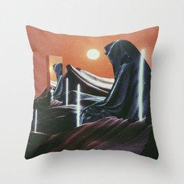 Silent Observer Throw Pillow