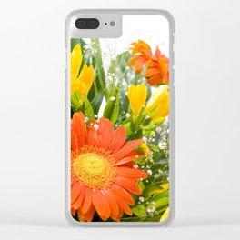Arranged wedding handheld bouquet Clear iPhone Case