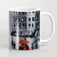paris Mugs featuring Paris by OLHADARCHUK