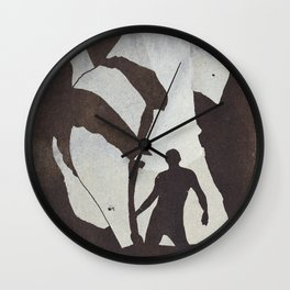Her Body Comes Out In The Night  Wall Clock