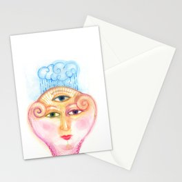 daemon of complicated times Stationery Cards