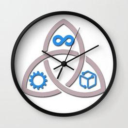 Fractured Era Series Logo Wall Clock