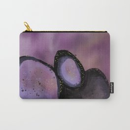 Purple Geode Carry-All Pouch