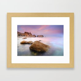 """Rijana beach"" Framed Art Print"