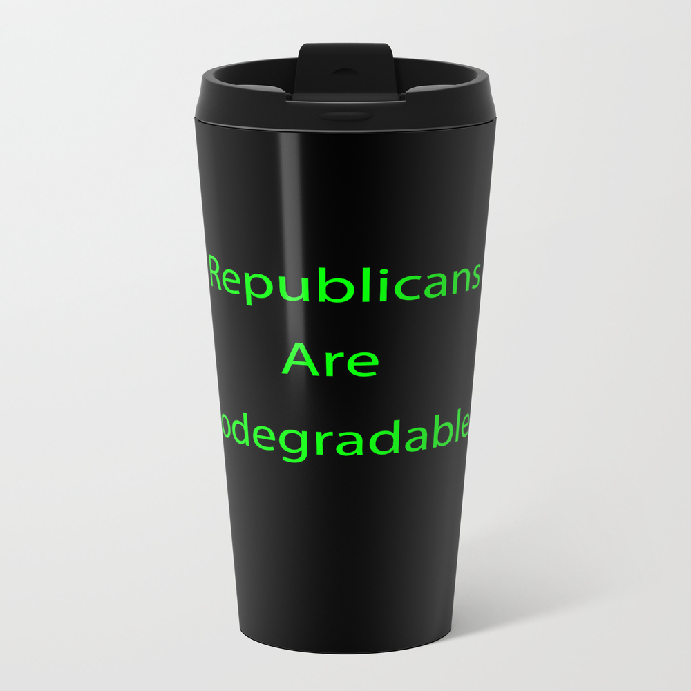 Biodegradable Metal Travel Mug by Cabanabearly1 MTM8876341