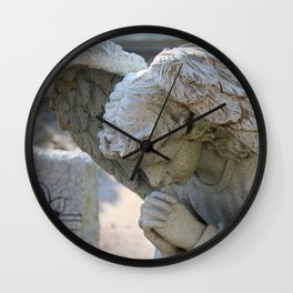 Silent Prayers Wall Clock