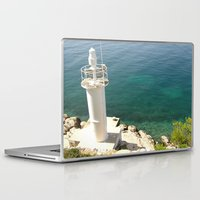 lighthouse Laptop & iPad Skins featuring Lighthouse by Bitifoto