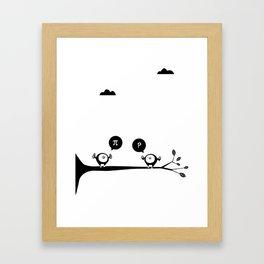 SweetBirds Framed Art Print