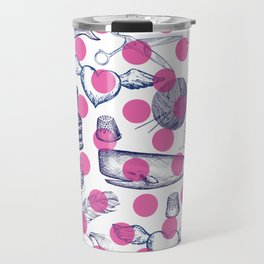 Poka Dots Travel Mug