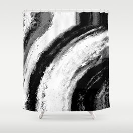 B&W Shower Curtain