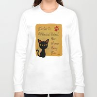 whimsical Long Sleeve T-shirts featuring Whimsical  by BATKEI