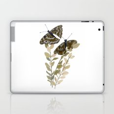 Two Brown Butterflies Laptop & iPad Skin