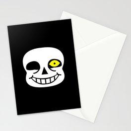 Sans Skull Bad Time Stationery Cards