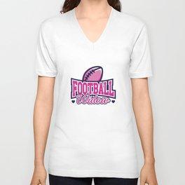 Football Widow Unisex V-Neck